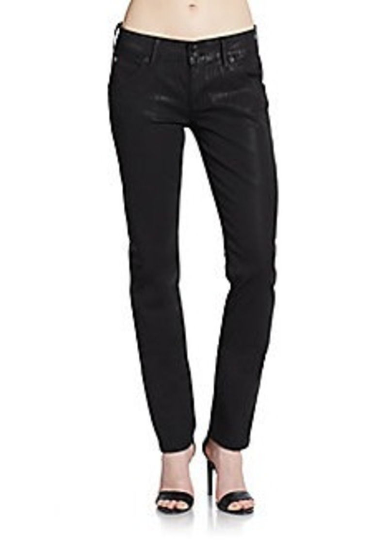 Hudson Jeans Hudson Collin Waxed Skinny Jeans