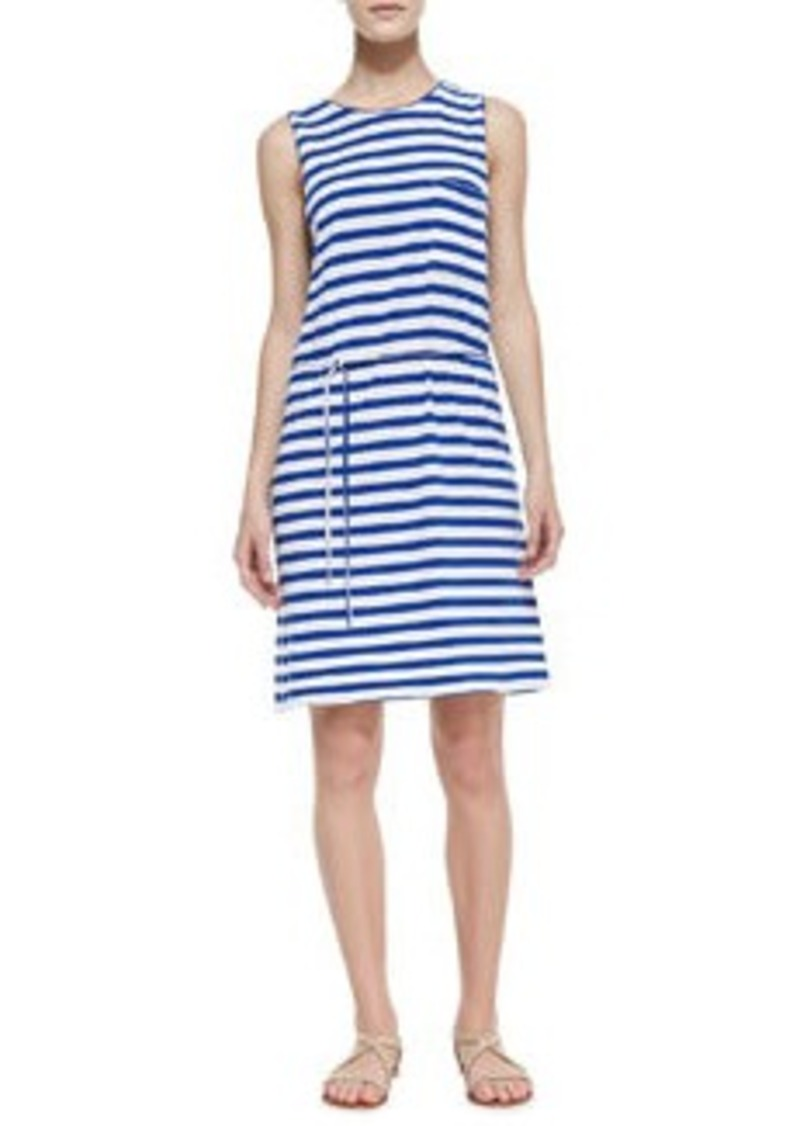 Joie Paseo Striped Cotton Knit Dress   Paseo Striped Cotton Knit Dress
