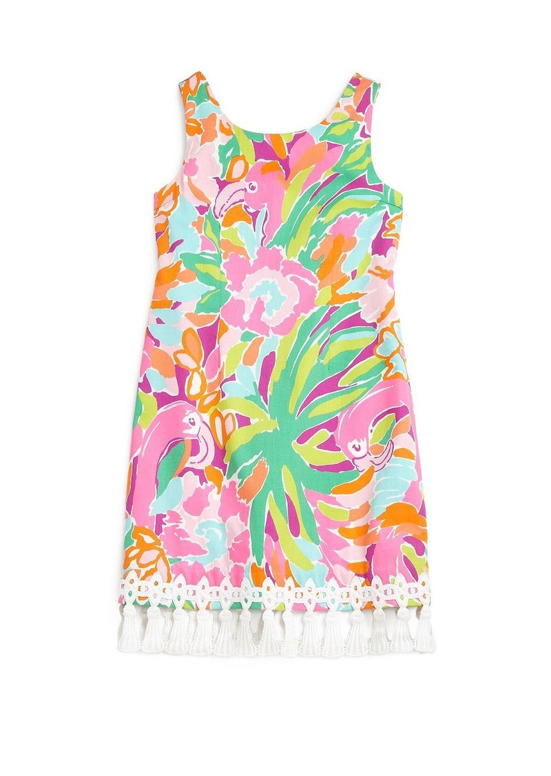 Lilly Pulitzer Kids Girl's Delia Floral Shift Dress