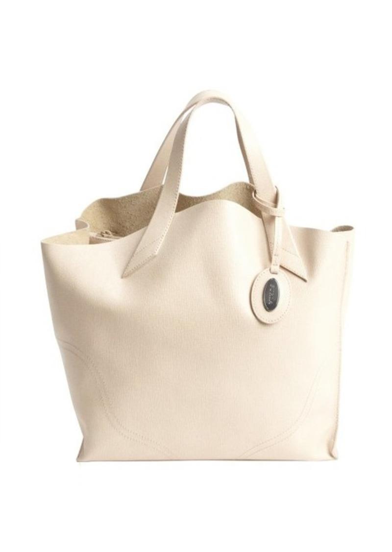 furla furla beige leather 39 jucca 39 shopper tote handbags shop it to me. Black Bedroom Furniture Sets. Home Design Ideas