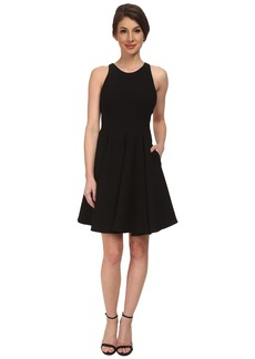 ABS Allen Schwartz Cocktail Dress w/ Lace Back