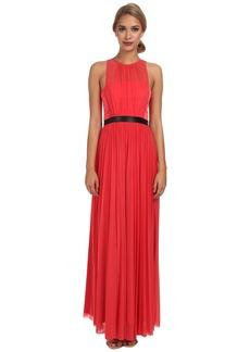 ABS Allen Schwartz Gown w/ Pleated Skirt