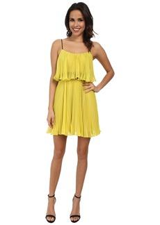 ABS Allen Schwartz Pleated Cami Dress
