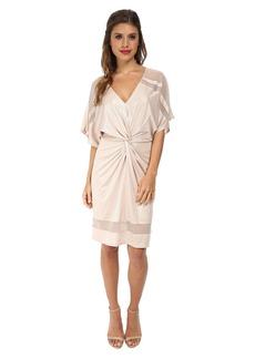 ABS Allen Schwartz Twist Front Kimono Dress