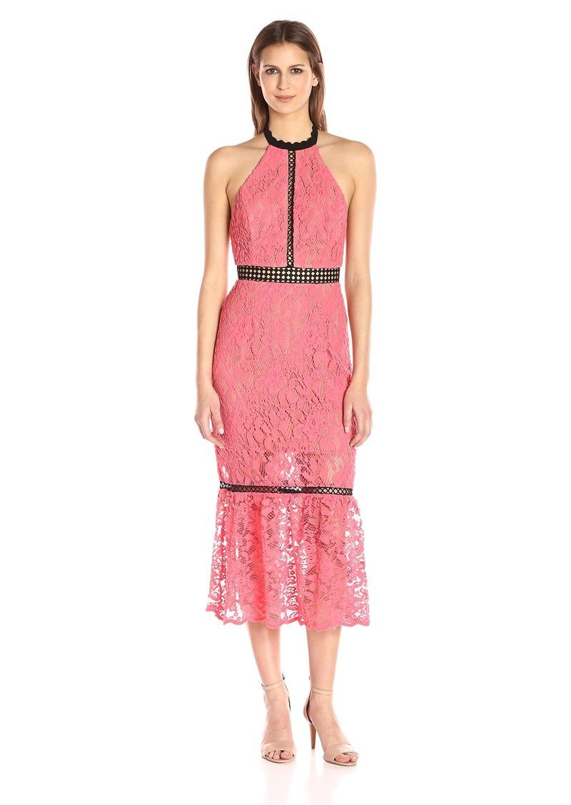 ABS ABS Allen Schwartz Women\'s Cocktail Dress Halter Neckline ...