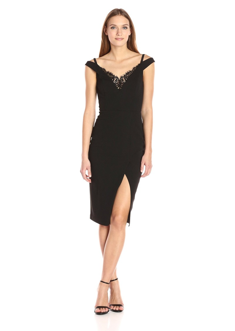 ABS ABS Allen Schwartz Women\'s Cocktail Dress W/ Lingerie Detial and ...