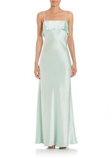 ABS Bias-Cut Slip Gown