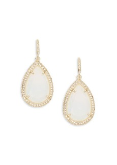 ABS A.B.S. By Allen Schwartz Anytime Anywhere Crystal Teardrop Earrings