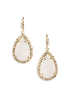 ABS Anytime Anywhere Crystal Teardrop Earrings