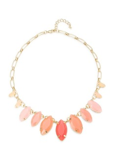 ABS A.B.S. By Allen Schwartz Marquis Stone-Accented Necklace