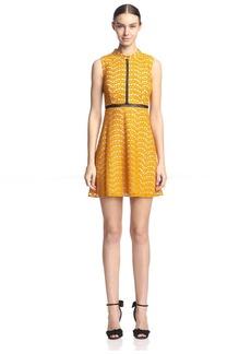 ABS A.B.S. by Allen Schwartz Women's Lace Babydoll Dress  L