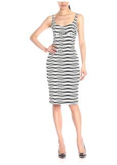 ABS A.B.S. by Allen Schwartz Women's Scoop Neck Body-Con Dress  M