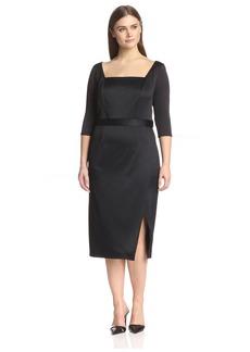 ABS Dresses Plus Women's Midi Dress