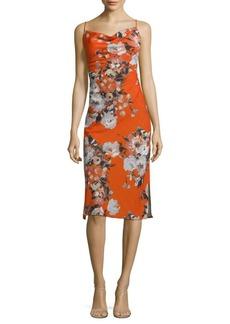 ABS Floral Slip Dress