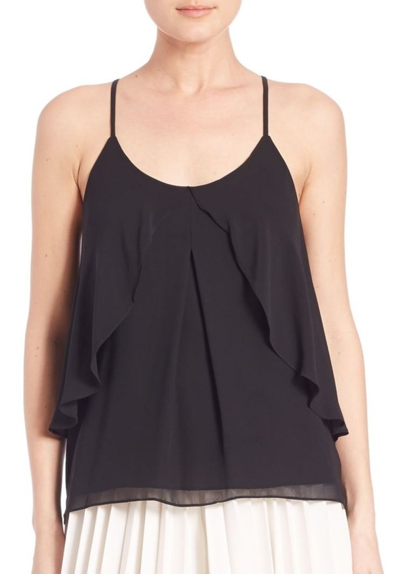 ABS Flounce Front Camisole