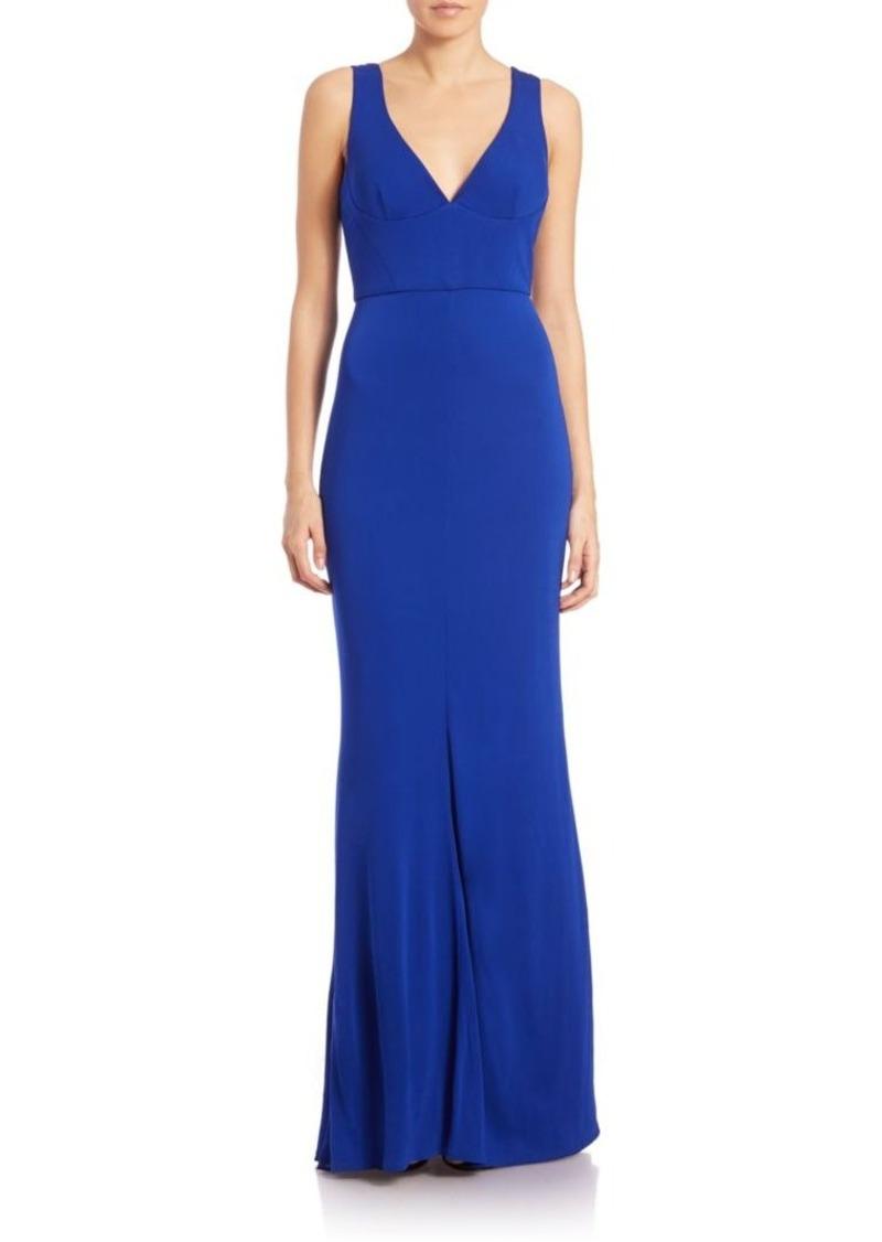 ABS ABS Elegant V-Back Gown   Dresses - Shop It To Me