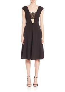 ABS Lace Inset Dress