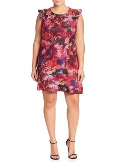ABS Floral Printed Dress