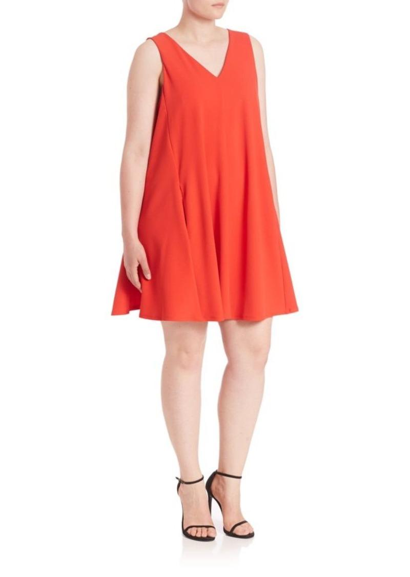 ABS, Plus Size Trapeze Dress