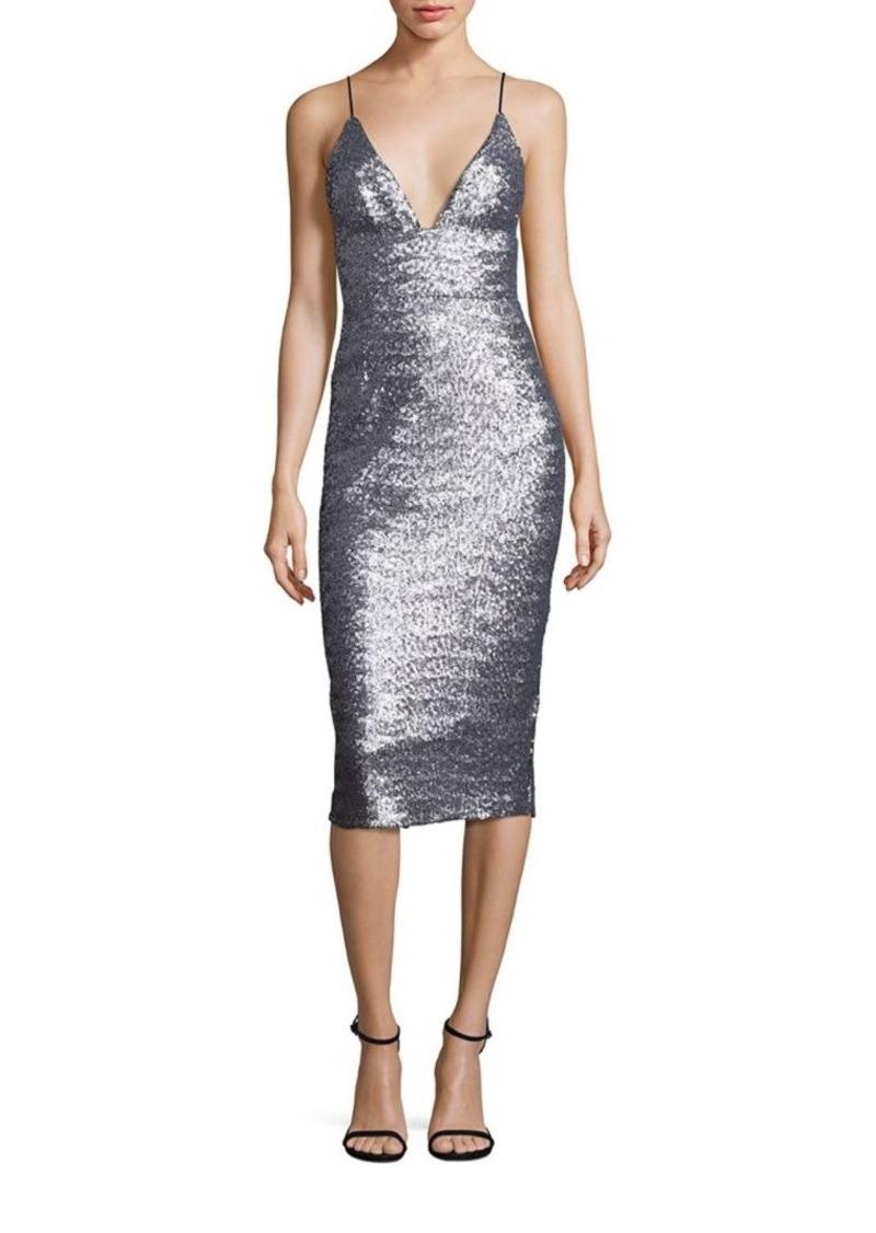 ABS ABS Sequin Slip Dress Now $105.00
