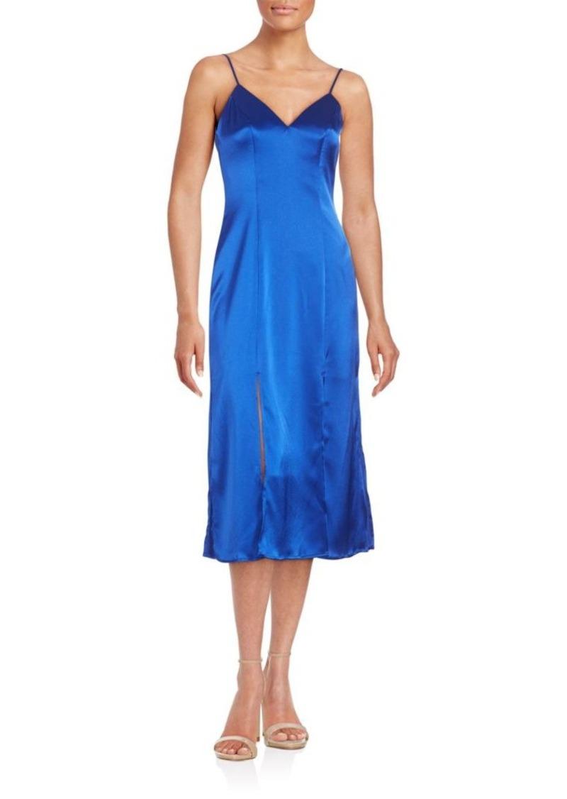 ABS V-Neck Slip Dress