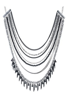 ABS Black Magic Multi-Row Necklace