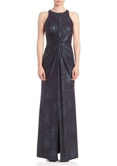 ABS Foil Jersey Gown