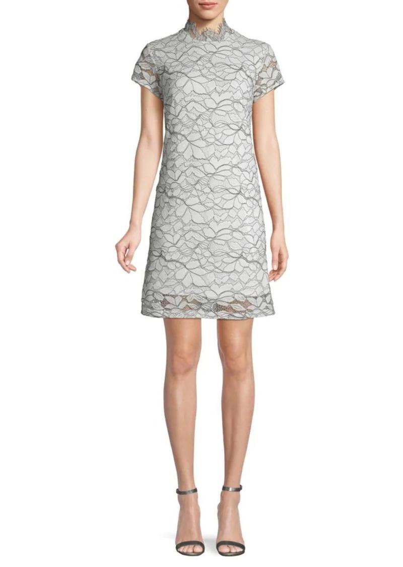 ABS Lace Sheath Dress