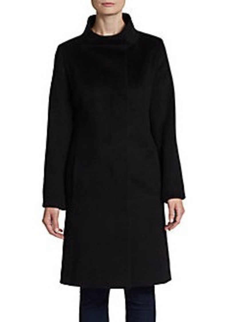Cinzia Rocca Wool Fleece Coat