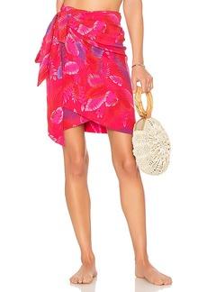 Acacia Swimwear Cabo Mini Wrap Skirt