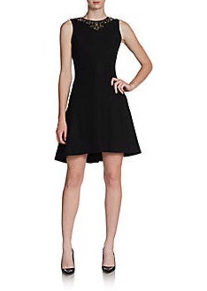 Cynthia Steffe Mallory Embellished Fit-And-Flare Dress