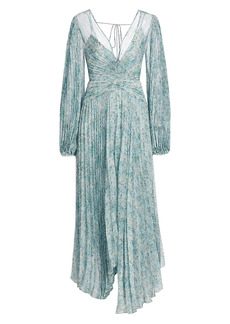 Acler Astone Pleated Gown