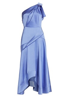Acler Bonham One-Shoulder Dress