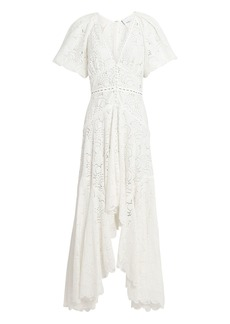 Acler Cookes Lace High-Low Dress