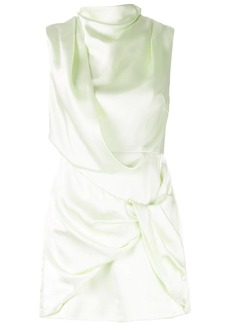 Acler Jasper asymmetric mini dress