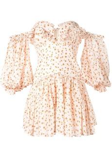 Acler Linton floral print dress