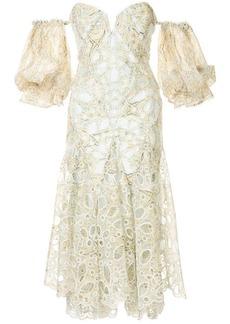 Acler off-the-shoulder Holland dress
