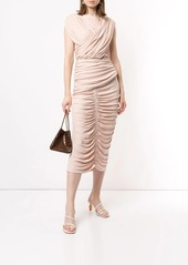 Acler Palmer draped midi dress