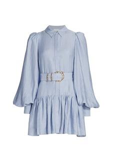 Acler Sherwood Belted Shirtdress