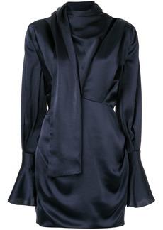 Acler Soto tucked mini dress
