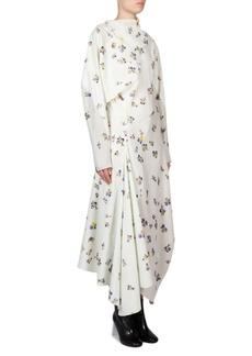 Acne Studios Floral Cotton Wrap Dress