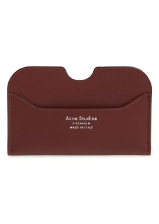 Acne Leather Card Case