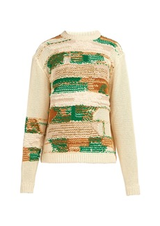 Acne Studios Abstract jacquard-knit sweater