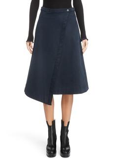 Acne Studios Asymmetrical Wrap Skirt