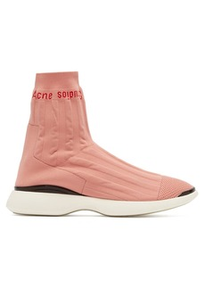 Acne Studios Batilda knitted sock trainers