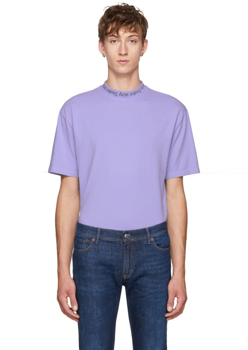 37ca7849a680 SALE! Acne Studios Acne Studios Blue Gojina Dyed T-Shirt