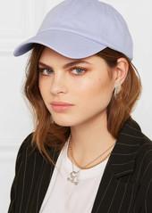 3e95ab8bde9 Acne Studios Carily embroidered cotton-twill baseball cap Now  70.00