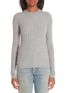 Acne Studios Carina Fitted Crewneck Sweater