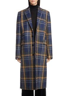 Acne Studios Check Wool Blend Coat