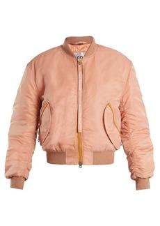 Acne Studios Clea padded bomber jacket